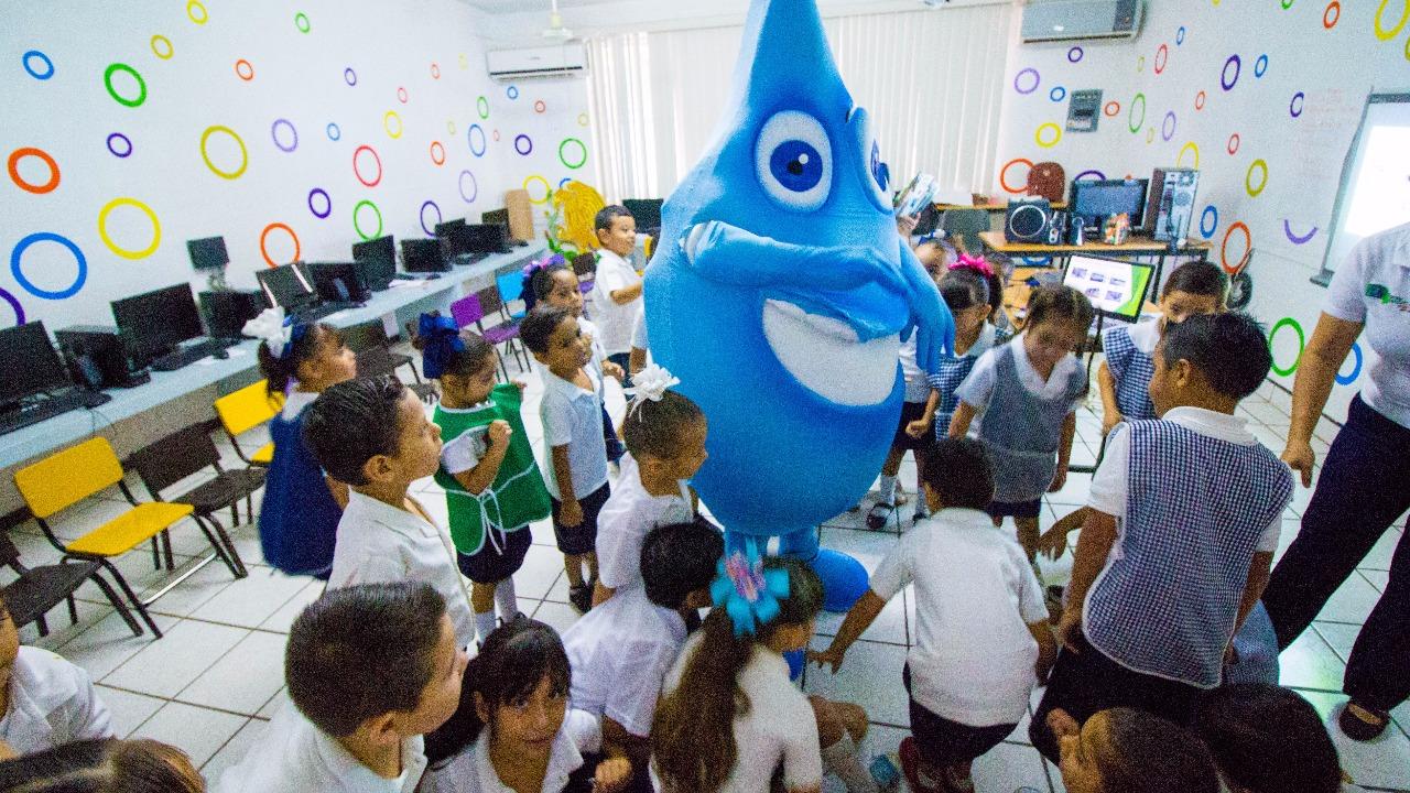 Aprenden niños a cuidar el agua con JUMAPAM | Ayuntamiento de Mazatlán